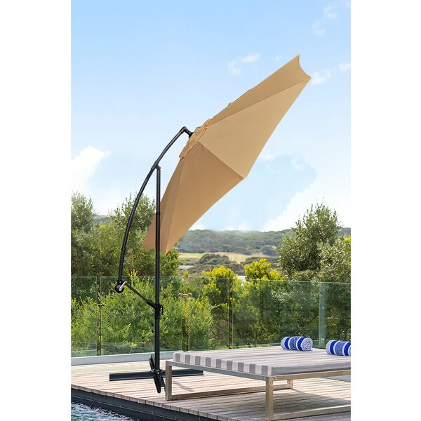 Drummond 10' Cantilever Umbrella By Winston Porter by Winston Porter Wonderful