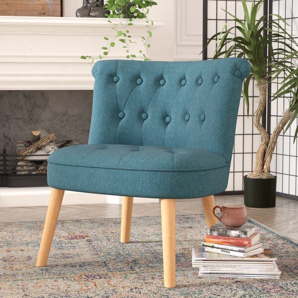 Leudelange Slipper Chair by Bungalow Rose