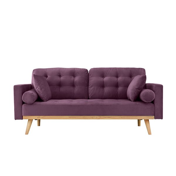 Seagle Mid Century Modern Sofa by Wrought Studio