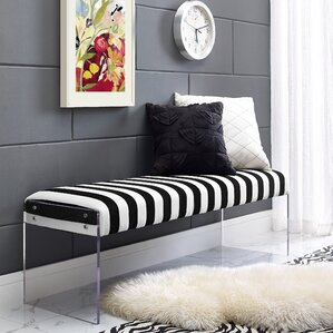 Lawson Upholstered Bench by Wade Logan