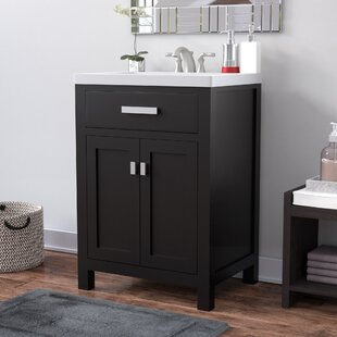 Quickview Zipcode Design Knighten 24 Single Bathroom Vanity