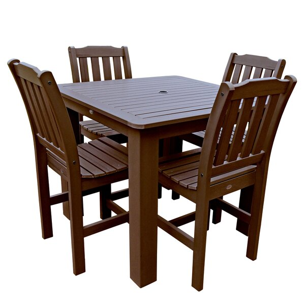 Phat Tommy Lehigh 5 Piece Dining Set by Buyers Choice