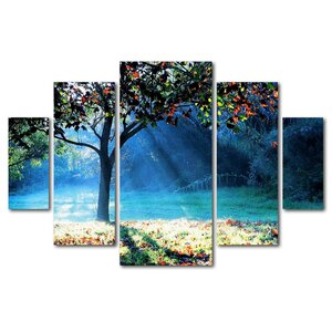 Rays of Hope by Beata Czyzowska Young 5 Piece Photographic Print on Wrapped Canvas Set by Trademark Fine Art