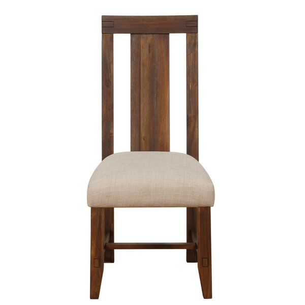 Heritage Solid Wood Dining Chair by Millwood Pines
