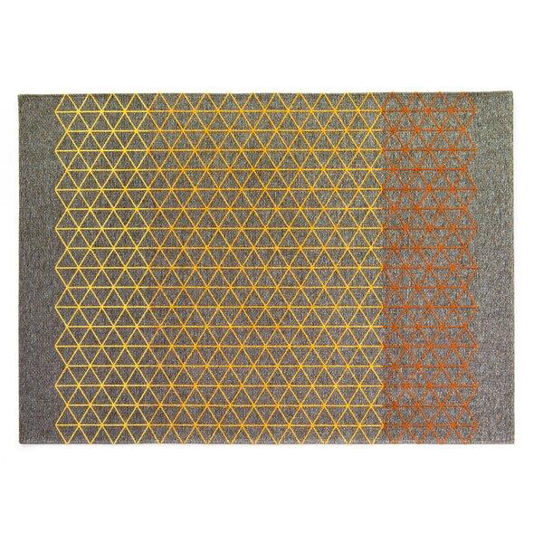 Apotema Gray/Yellow Rug by Calligaris