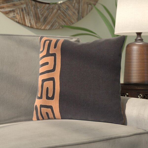 Alona Linen Throw Pillow by Bloomsbury Market