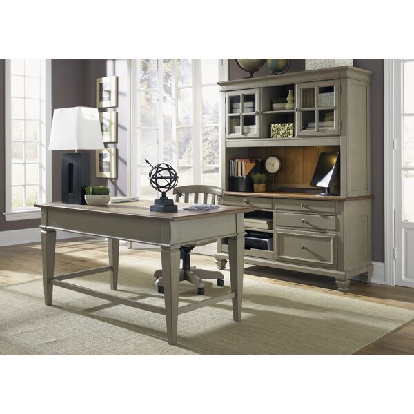 Mason 3 Piece Desk Office Suite by Beachcrest Home