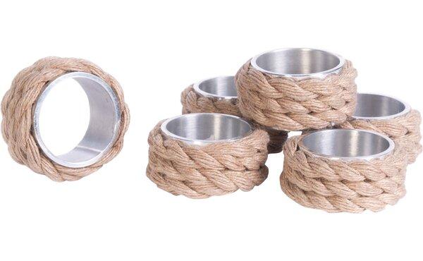 Napkin Ring Set (Set of 6) by Breakwater Bay