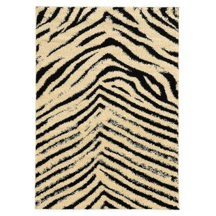 Affordable Westland Ivory/Black Area Rug By Threadbind