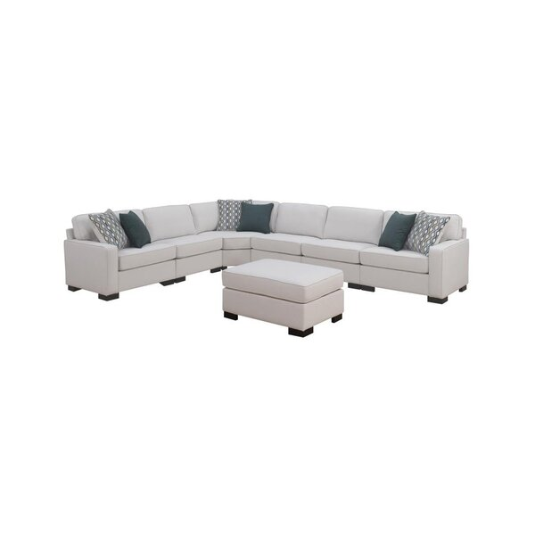 Phaedra Reversible Modular Sectional with Ottoman by Latitude Run