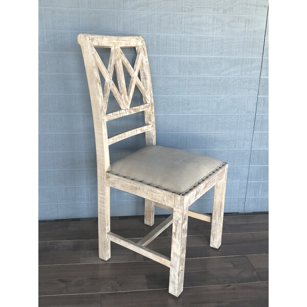 Annie Upholstered Dining Chair (Set of 2) by Rosecliff Heights
