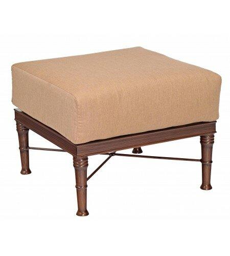 Arkadia Ottoman with Cushion by Woodard