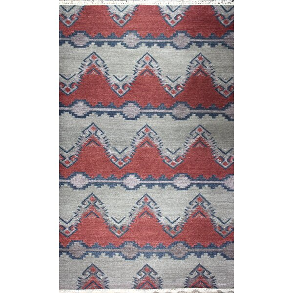 Yother Hand-Woven Earth Area Rug by Bloomsbury Market