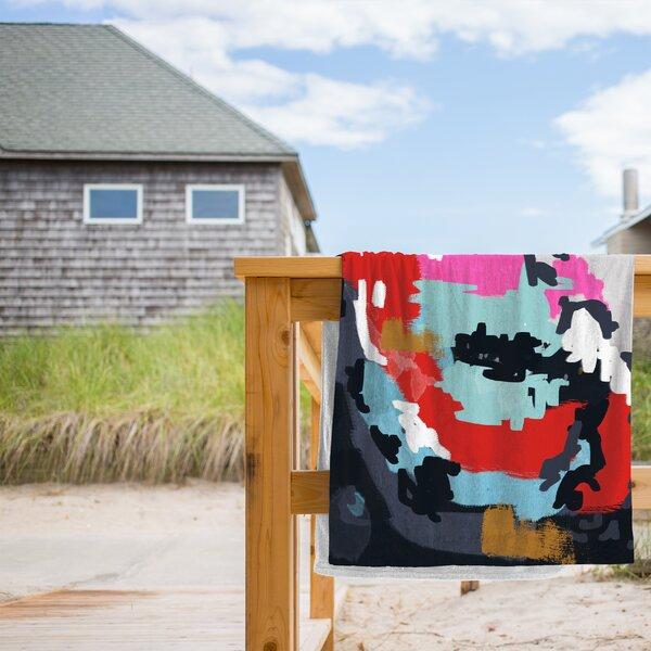 Charlotte Beach Towel by East Urban Home