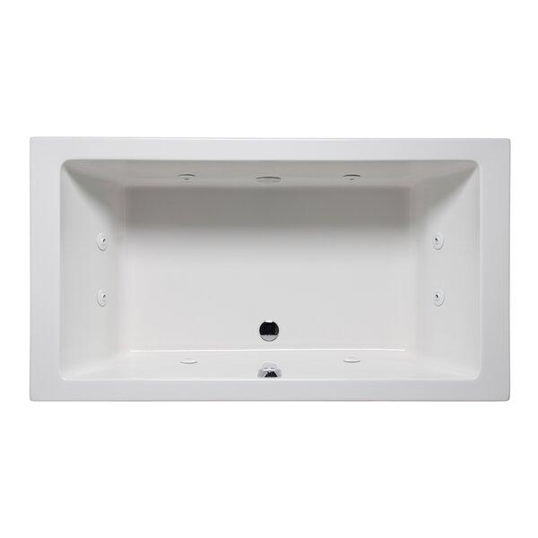 Vivo 66 x 36 Drop in Whirlpool Bathtub by Americh