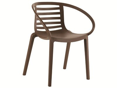 Mambo Stacking Patio Dining Chair by Florida Seating