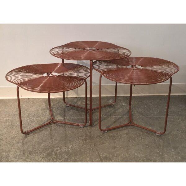 Schema A Cote 3 Piece Coffee Table Set By Oggetti