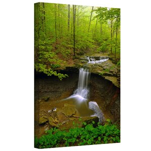 Water Falls by Antonio Raggio Photographic Print on Wrapped Canvas by Loon Peak