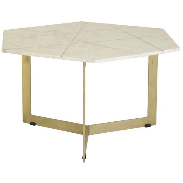 Spataro Cross Legs Coffee Table By Mercer41