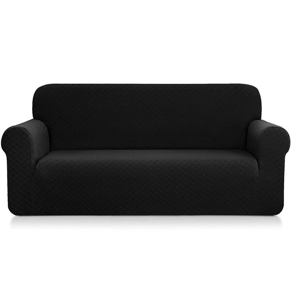 Ultra Soft Box Cushion Loveseat Slipcover By Red Barrel Studio