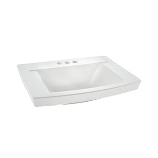 Shop For Townsend 16 Pedestal Bathroom Sink with Overflow By American Standard