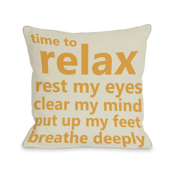 Time Pillow by One Bella Casa