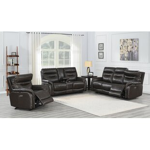 Aonghus Power Reclining Configurable Living Room Set by Red Barrel Studio®