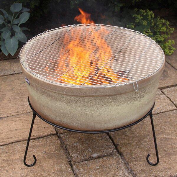 Jumbo Fire Bowl Chimalin Tabletop Fireplace by Gardeco