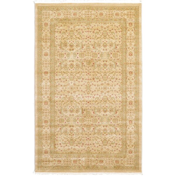 Willow Beige Area Rug by World Menagerie