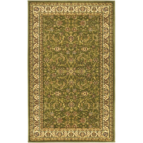 Ottis Sage/Ivory Area Rug by Charlton Home