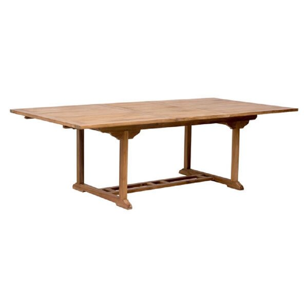 Holland Extendable Teak Dining Table by Longshore Tides