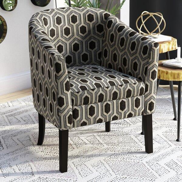 Hunter Barrel Chair By Zipcode Design Comparison