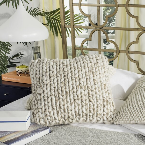 Alessia All Over Braid Throw Pillow by Laurel Foundry Modern Farmhouse