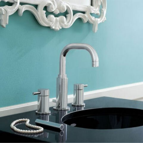Serin Widespread Bathroom Faucet with Drain Assembly by American Standard