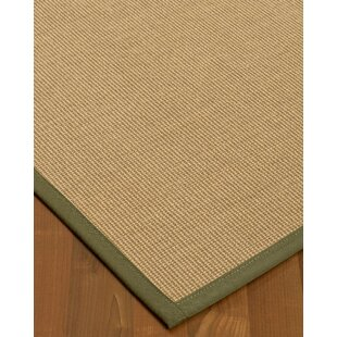 Great Price Atwell Border Hand-Woven Gray/Fossil Area Rug By Bayou Breeze