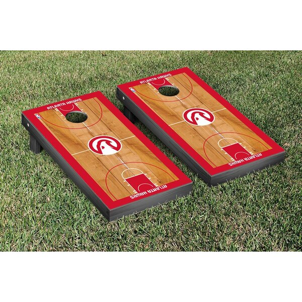 NBA Basketball Court Version Cornhole Game Set by Victory Tailgate