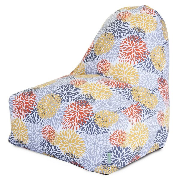 Blooms Small Outdoor Friendly Bean Bag Lounger By Majestic Home Goods