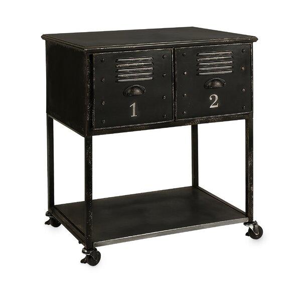 Fayette 2-Drawer Kitchen Cart by Williston Forge