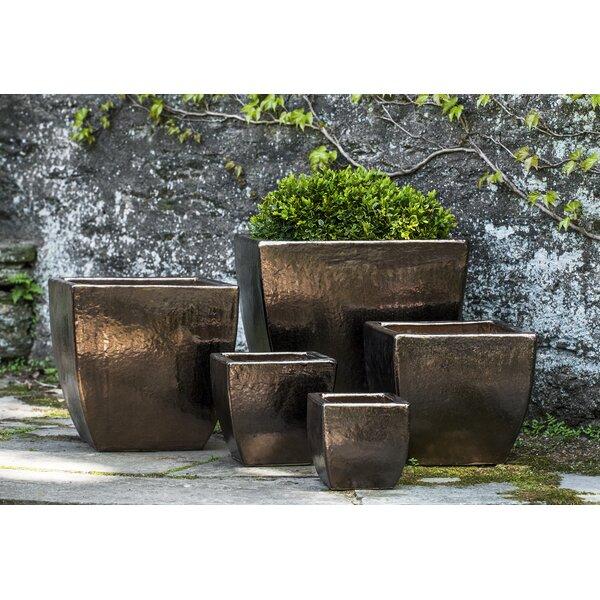 Reczkowski 5-Piece Terracotta Pot Planter Set by Everly Quinn