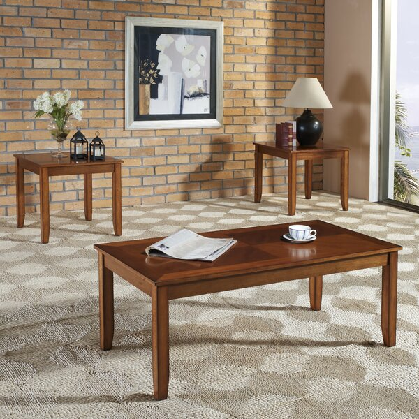 Hendershot 3 Piece Coffee Table Set by Union Rustic Union Rustic