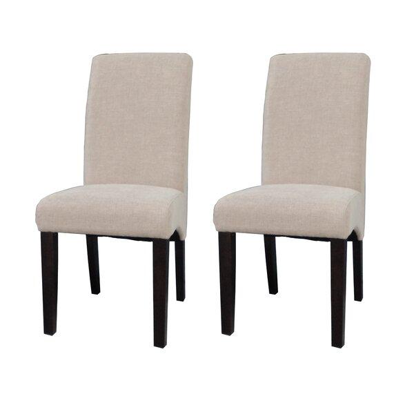 Lipps Upholstered Dining Chair (Set Of 2) By Orren Ellis