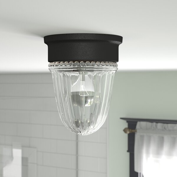 Billingsley 1-Light Flush Mount by Charlton Home
