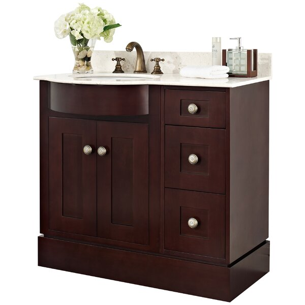 36 Single Transitional Bathroom Vanity Set by American Imaginations