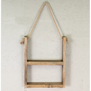 Brewer Rustic Wall Shelf by Millwood Pines