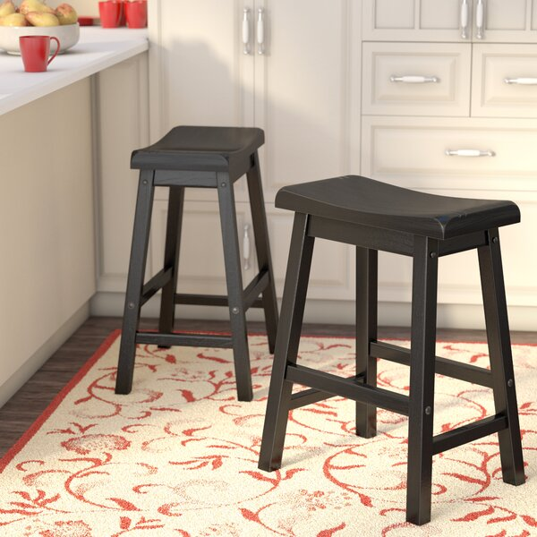 Bates 18 Bar Stool (Set of 2) by Andover Mills