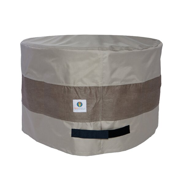 Wyrick 31 Round Patio Ottoman or Side Table Cover by Freeport Park