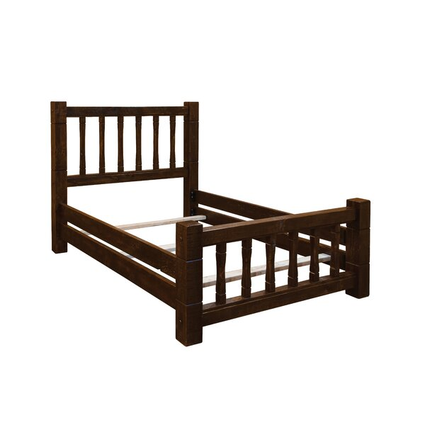 Trainor Rustic Barn Wood Style Mission Standard Bed by Loon Peak
