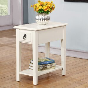 Erin End Table With Storage by Darby Home Co