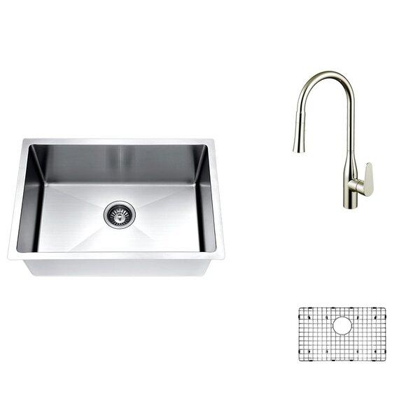 26 x 18 Undermount Kitchen Sink with Faucet