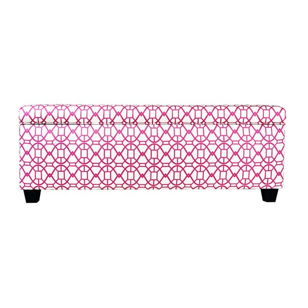 Seguis Upholstered Storage Bench by Red Barrel Studio
